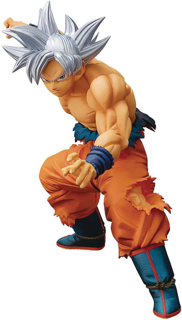 Dragon Ball Super Ultra Instinct Son Goku Fes Vol 8 Statue 8 Inch Banpresto NEW