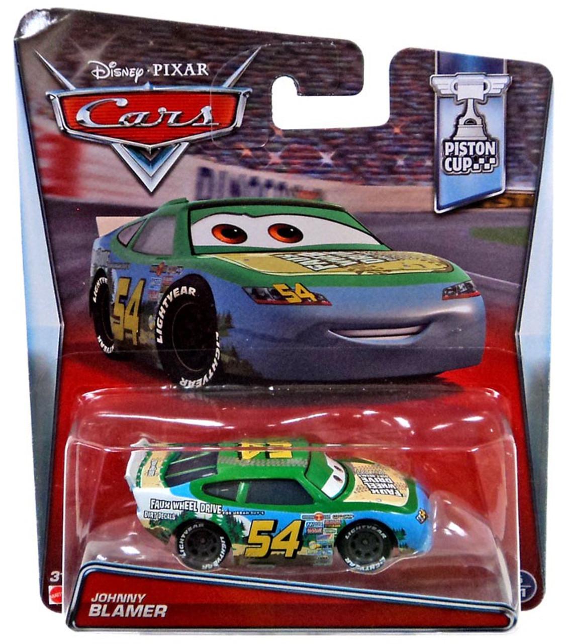 Disney Cars Piston Cup Johnny Blamer Diecast Car #5//11