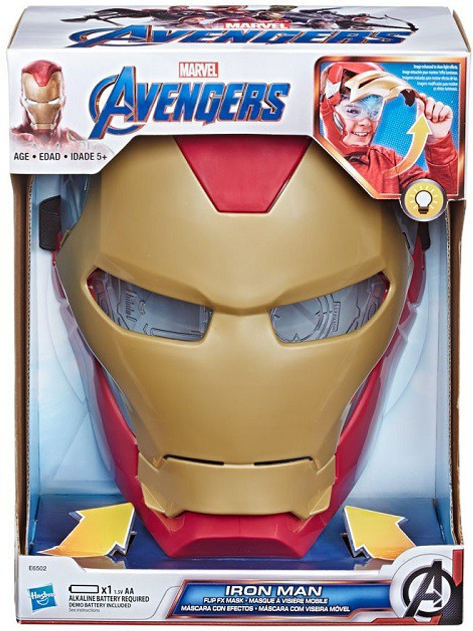 Toys Lights Up Avengers Marvel Legends Gear Iron Man Replica Electronic Helmet