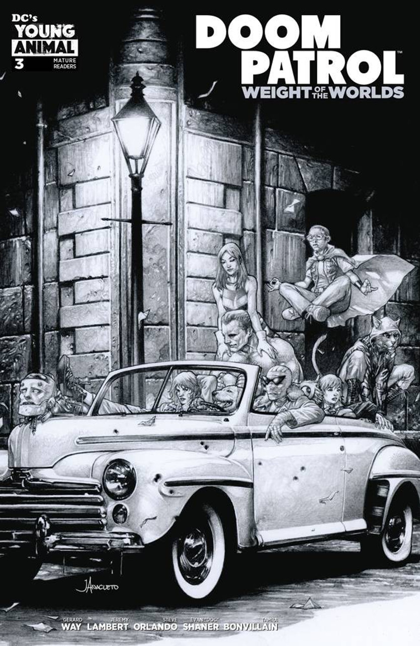 Dc Doom Patrol Weight Of The Worlds Comic Book 3 Jay Anacleto
