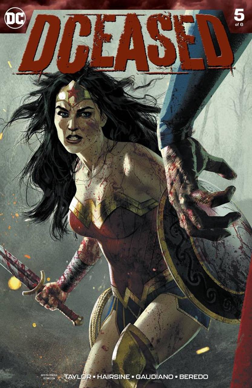 DCEASED #4 OF 6 HORROR VARIANT COVER DC COMIC BOOK BATMAN WONDER WOMAN NEW 1