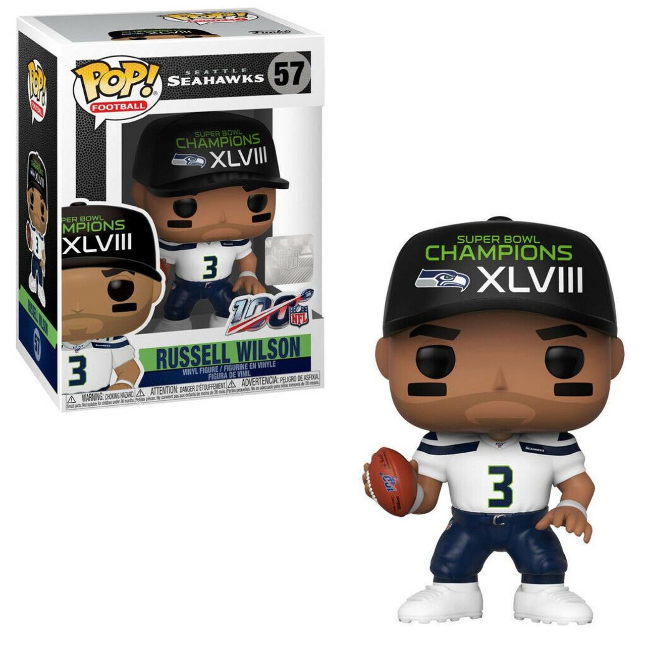 Roblox Football I Cant Play Seattle Fans Funko Nfl Seattle Seahawks Pop Sports Football Russell Wilson Vinyl Figure 57 Sb Champions Xlviii Toywiz