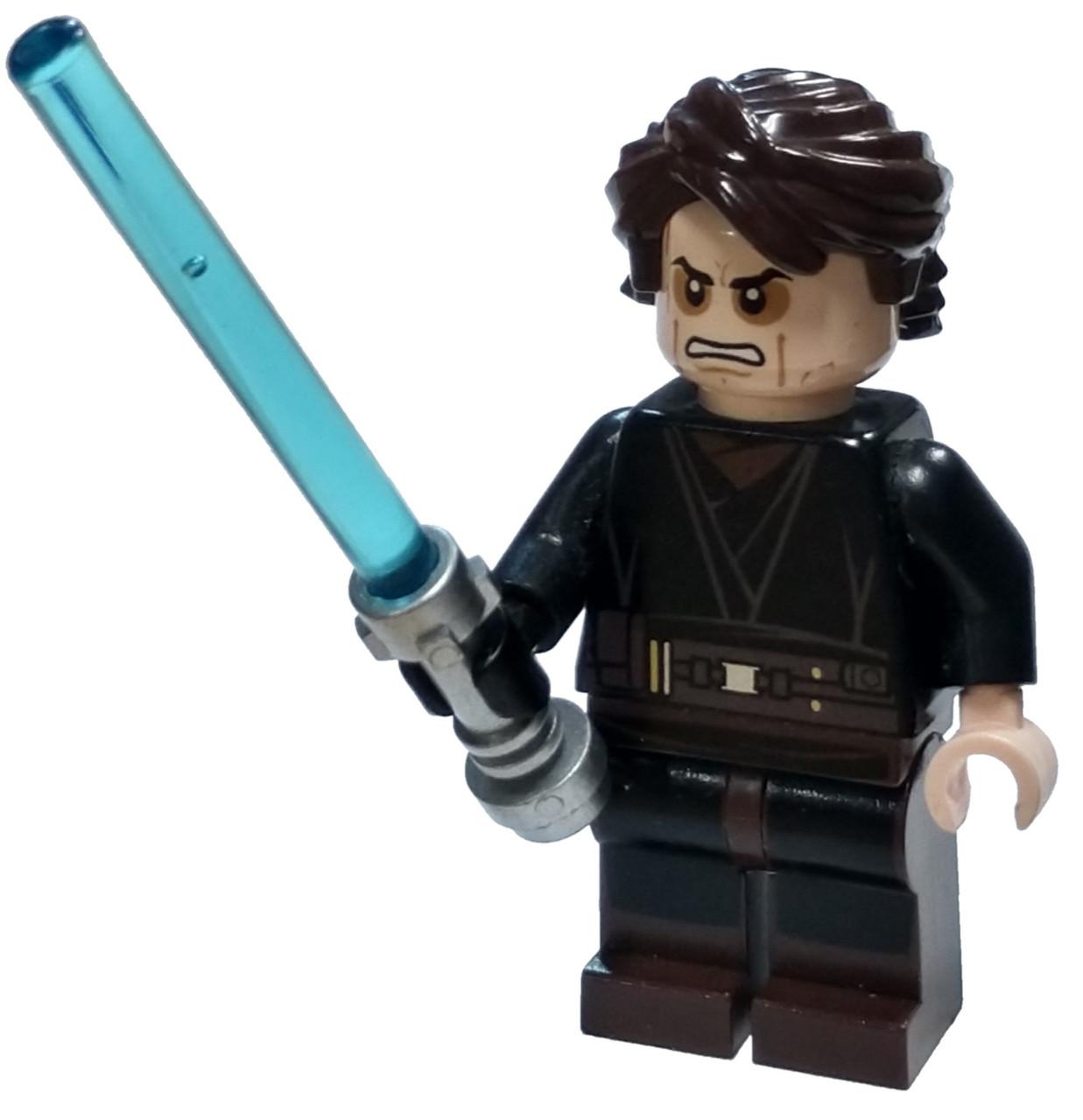 LEGO Star Wars Episode 3 Anakin Skywalker Minifigure Sith ...