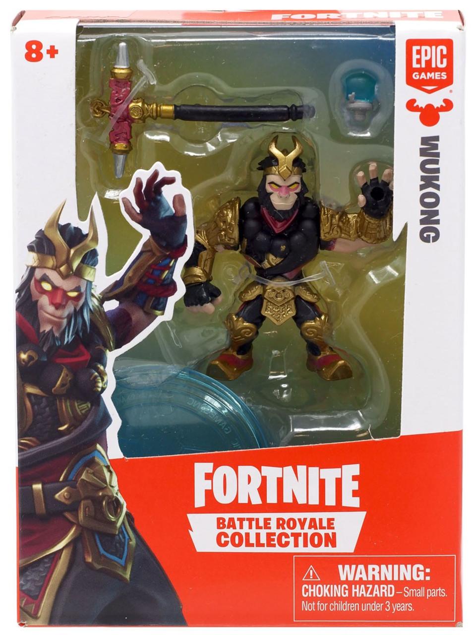White Sushi Fortnite Loadout Fortnite Epic Games Battle Royale Collection Wukong 2 Mini Figure Moose Toys Toywiz