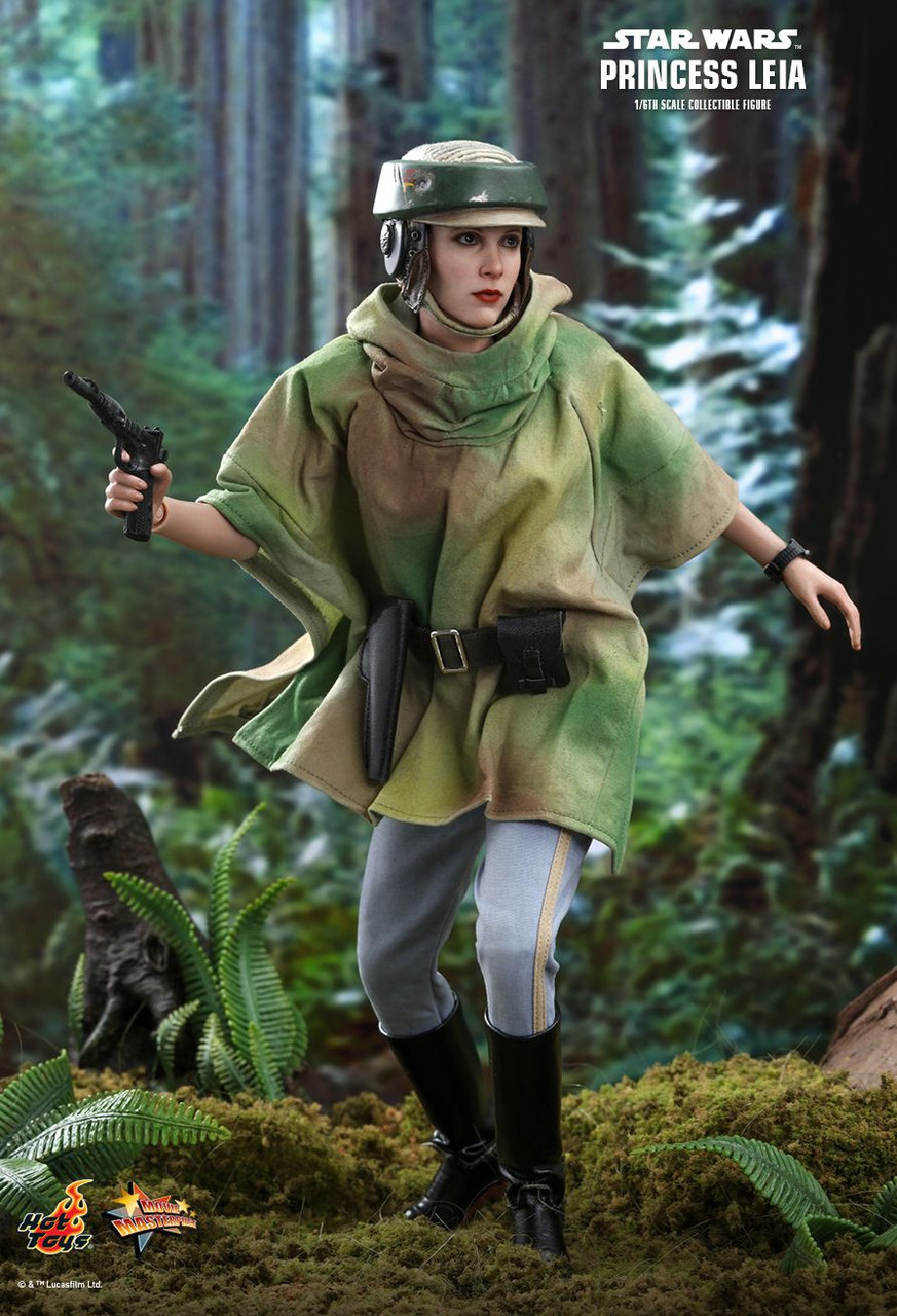 Star Wars Return Of The Jedi Movie Masterpiece Princess Leia 16 Collectible Figure Mms549 Return Of The Jedi Hot Toys Toywiz