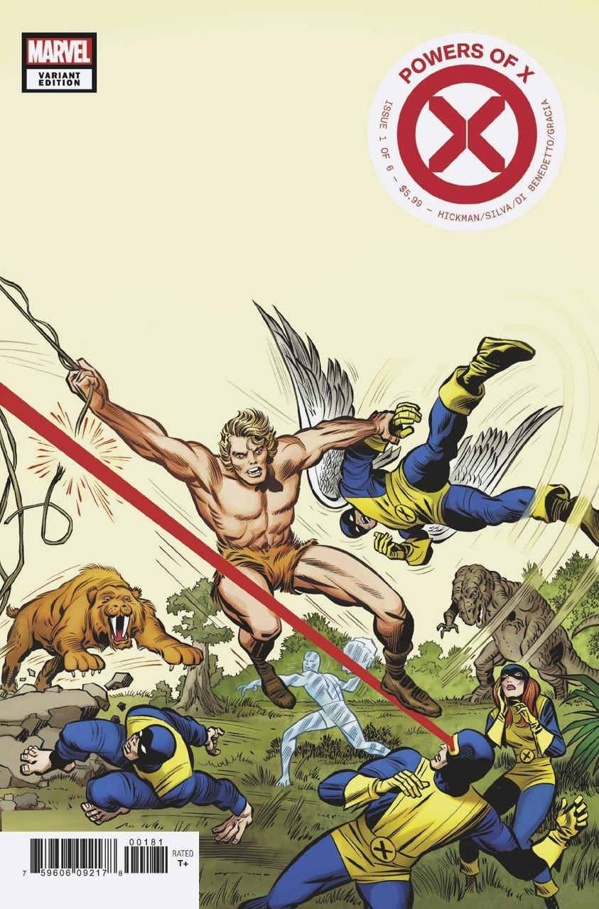Kirby Roblox Death Sound Marvel Comics Powers Of X Comic Book 1 Jack Kirby Hidden Gem Variant Cover Toywiz