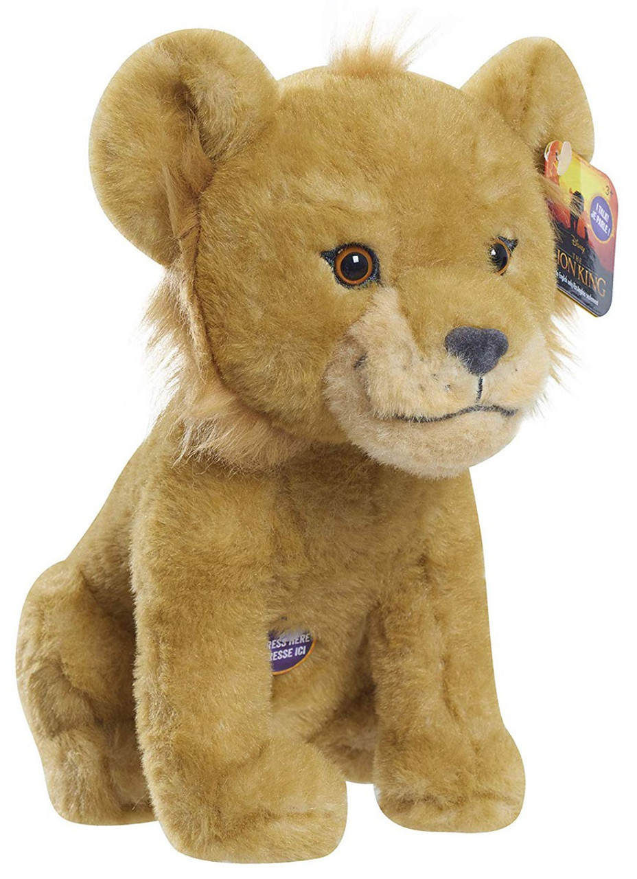 Disney The Lion King 2019 Simba 8 Inch Plush With Sound