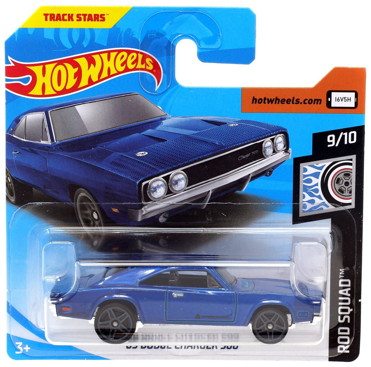 Ncis Team Dodge Charger Roblox Hot Wheels Rod Squad 69 Dodge Charger 500 164 Die Cast Car Fyd94 910 Mattel Toys Toywiz