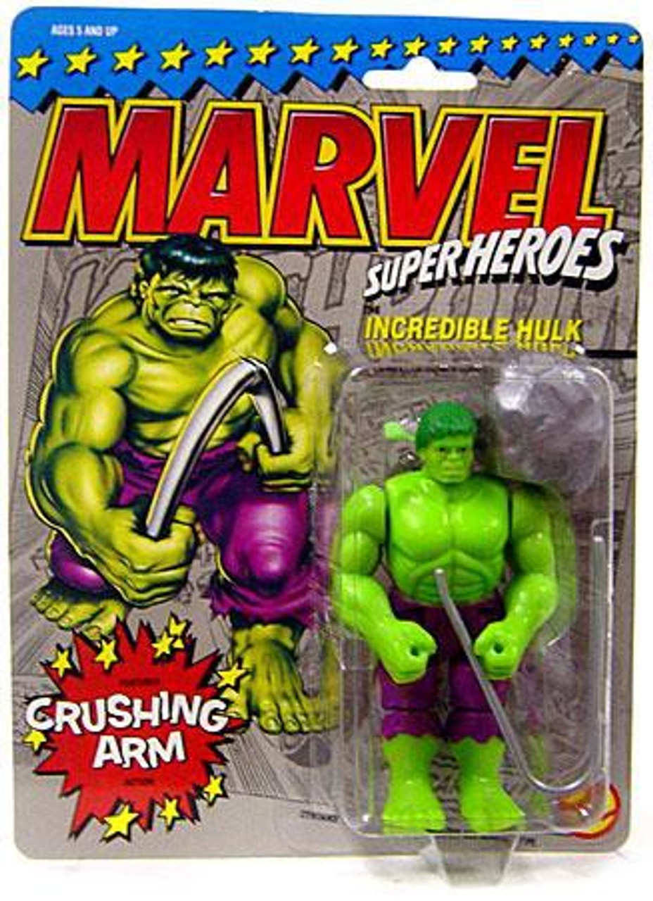"Marvel Movie Angry Incredible Hulk Comic 7"" Action Figure Toy"