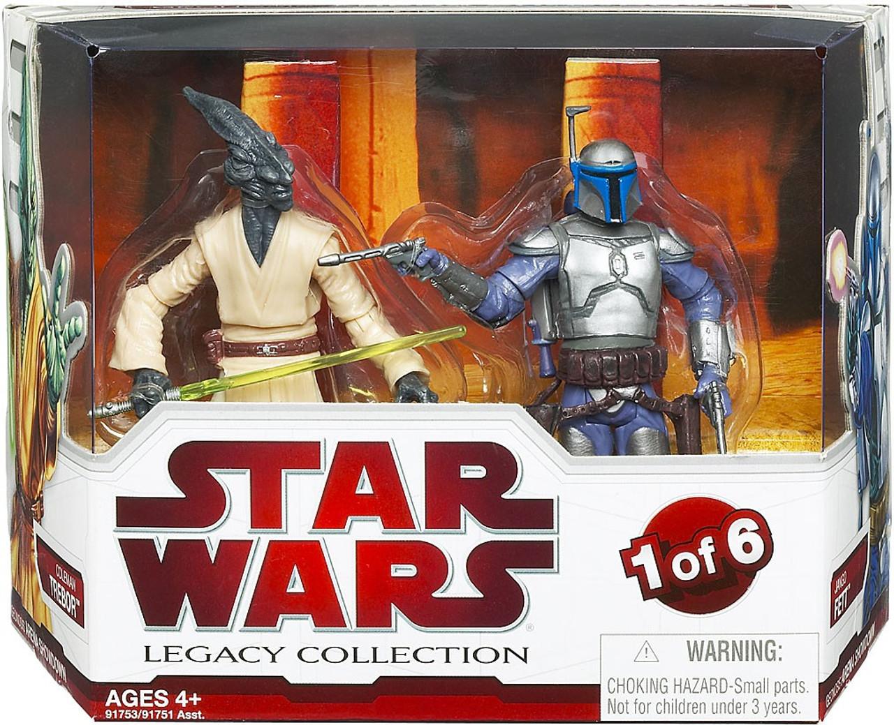 Star Wars Legacy Collection 2010 Geonosis Arena Showdown 6 R2-D2 et C-3PO Menthe en Boîte Scellée