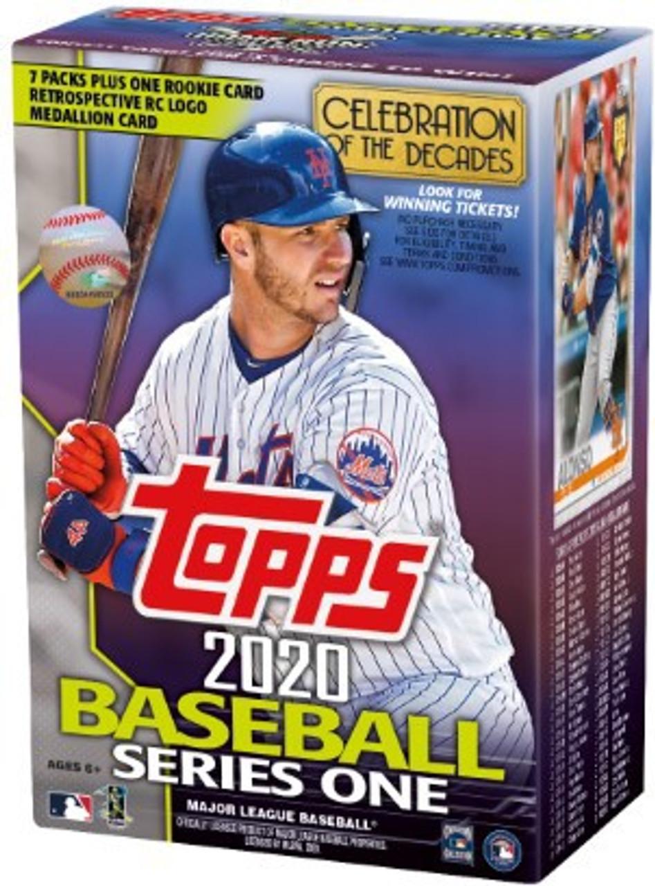Mlb 2020 Topps Series 1 Baseball Trading Card Blaster Box Pre Order Ships February