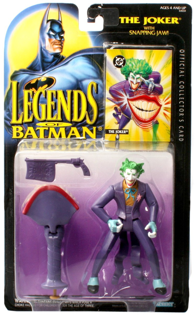 Dc Batman Legends Of Batman The Joker 5 Action Figure With Snapping Jaw Kenner Toywiz