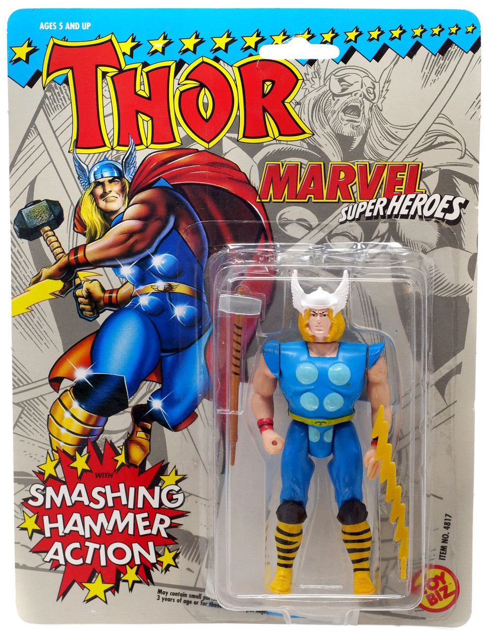 Marvel Super Hero Squad Thor Soft Hammer