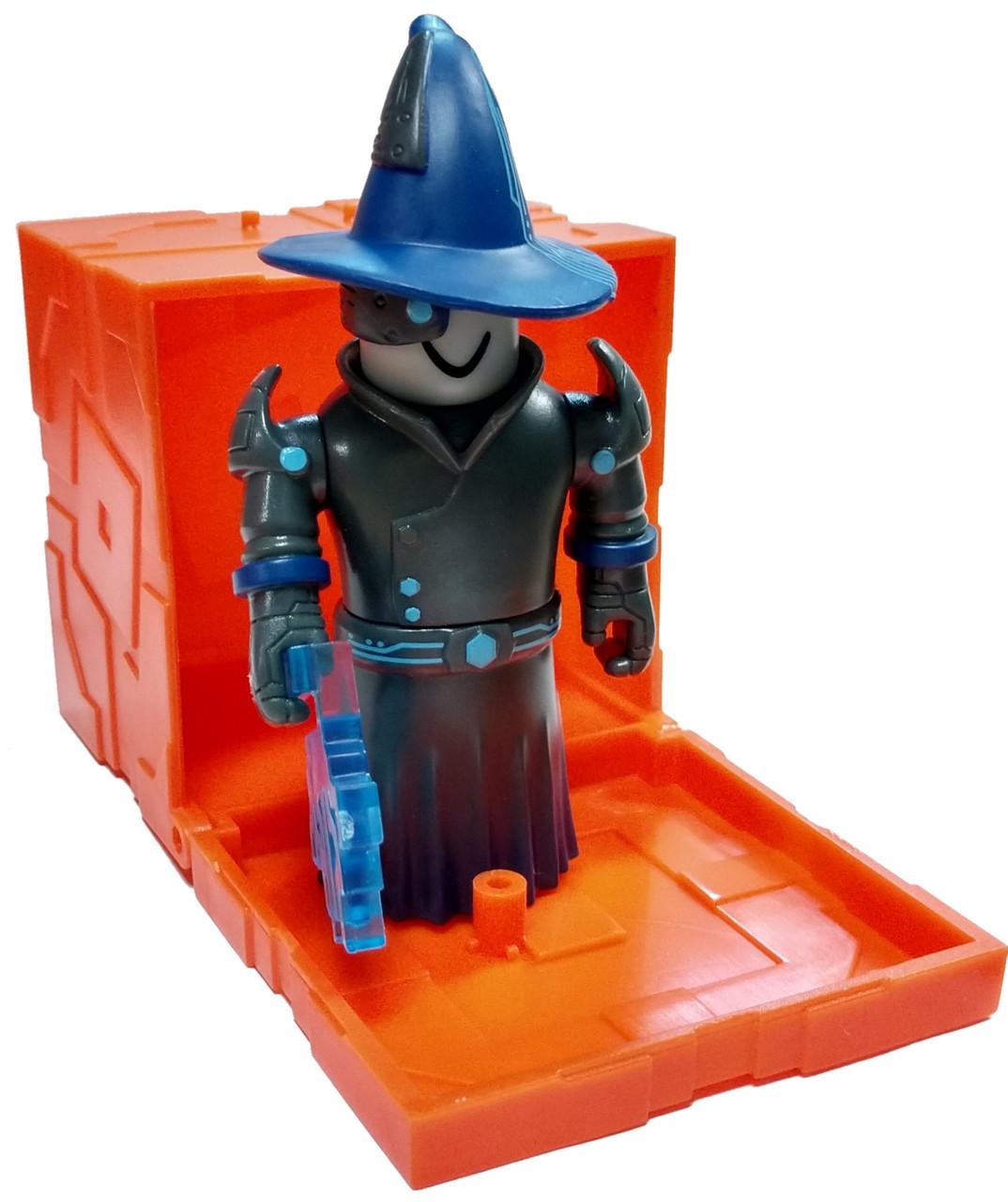 Overseer Wizard Overseer Berserker Roblox Roblox Series 6 Techno Wizard 3 Mini Figure With Orange Cube And Online Code Loose Jazwares Toywiz