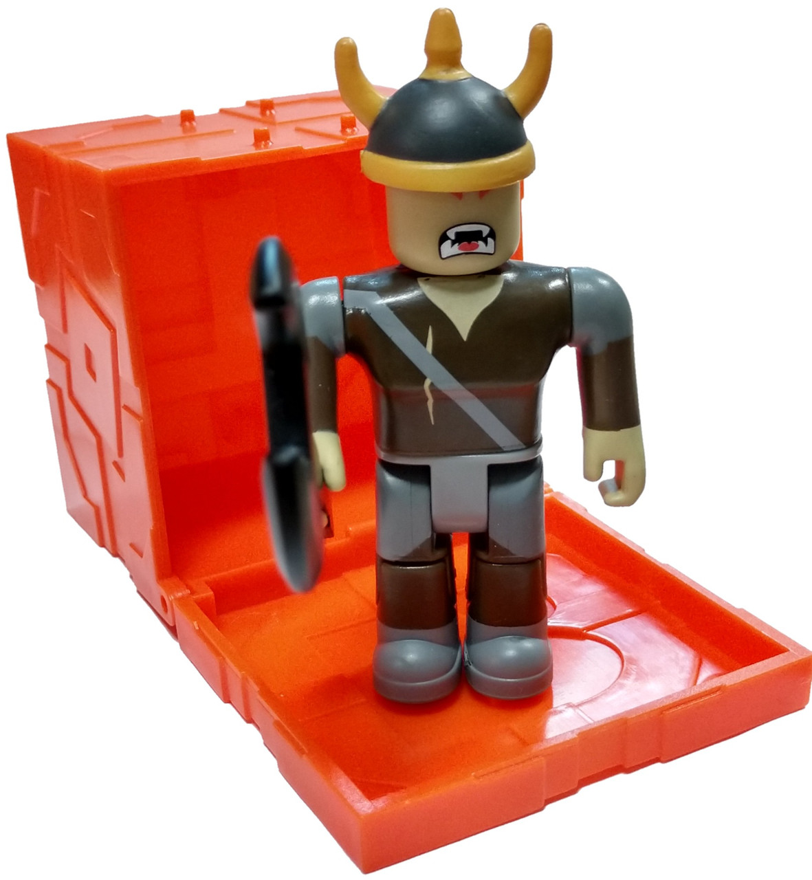 Roblox Series 6 Summoner Tycoon Viking 3 Mini Figure With Orange