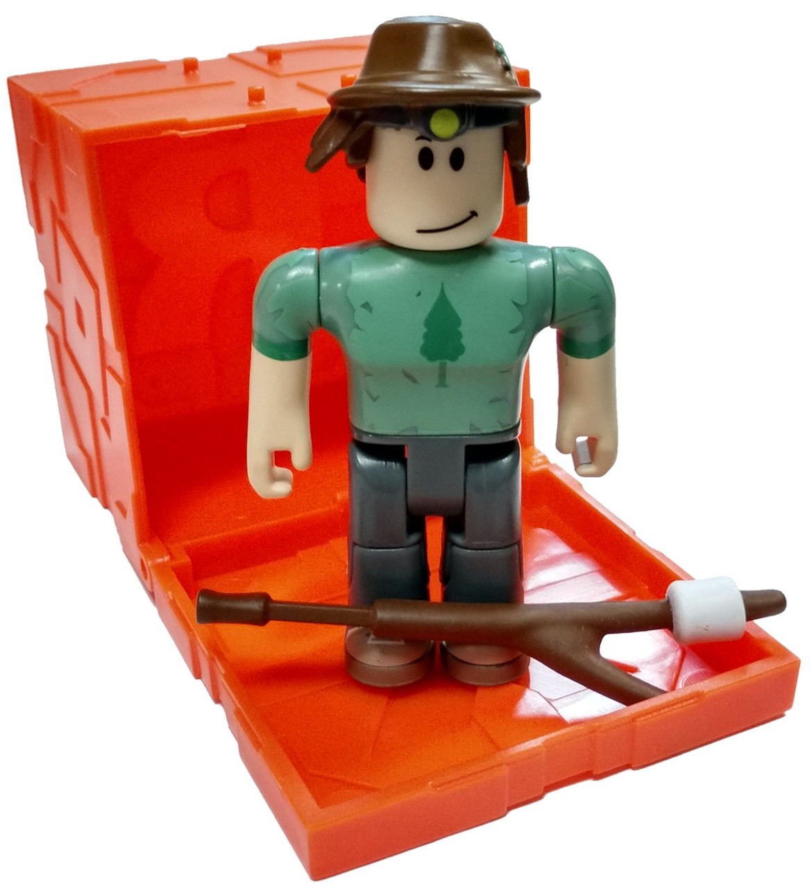 Roblox Series 6 Backpacking Camper Boy 3 Mini Figure With Orange
