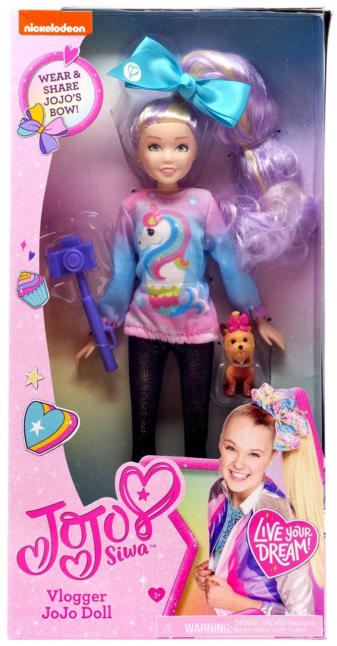 Nickelodeon Jojo Siwa Vlogger Jojo 10 Doll Just Play Toywiz