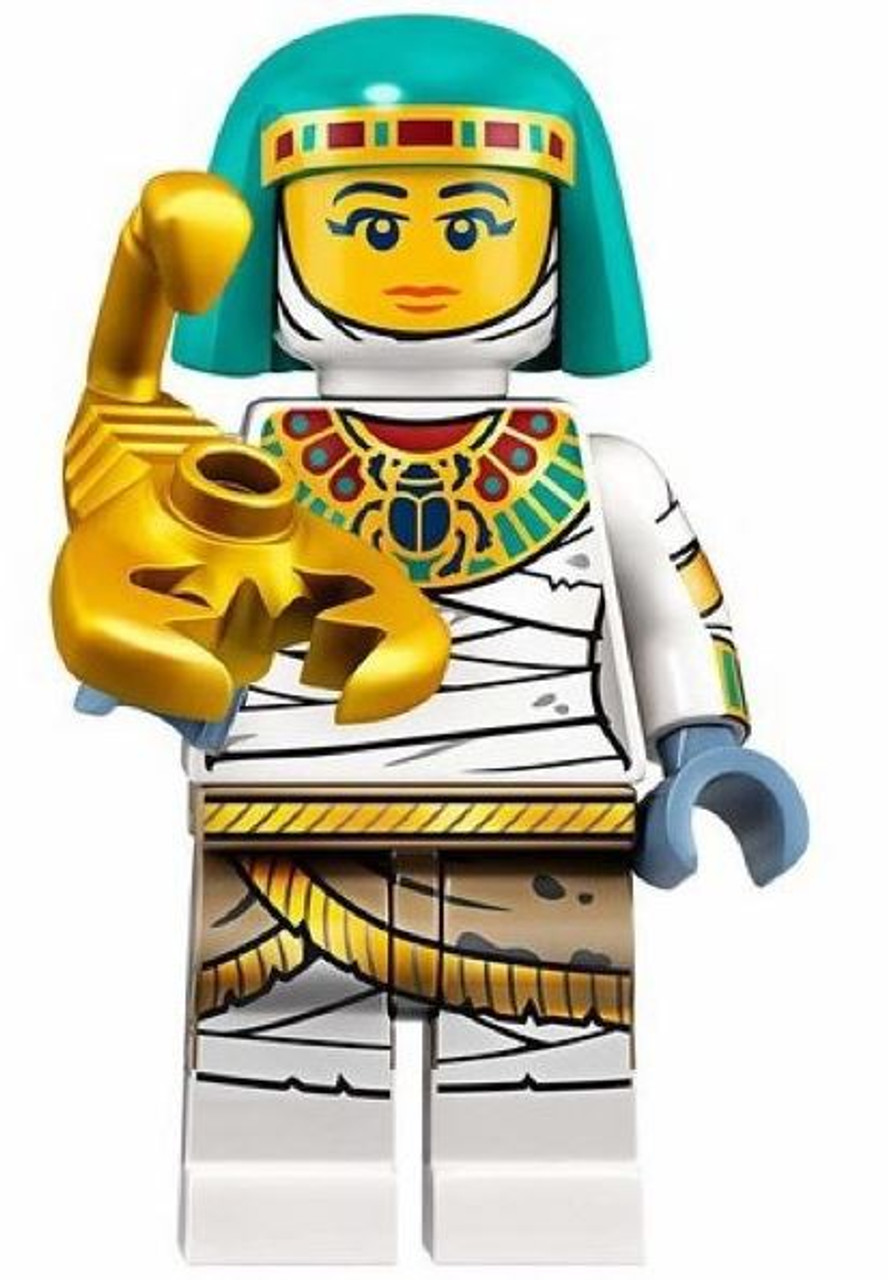 genuine lego minifigures the lady mummy from series 19