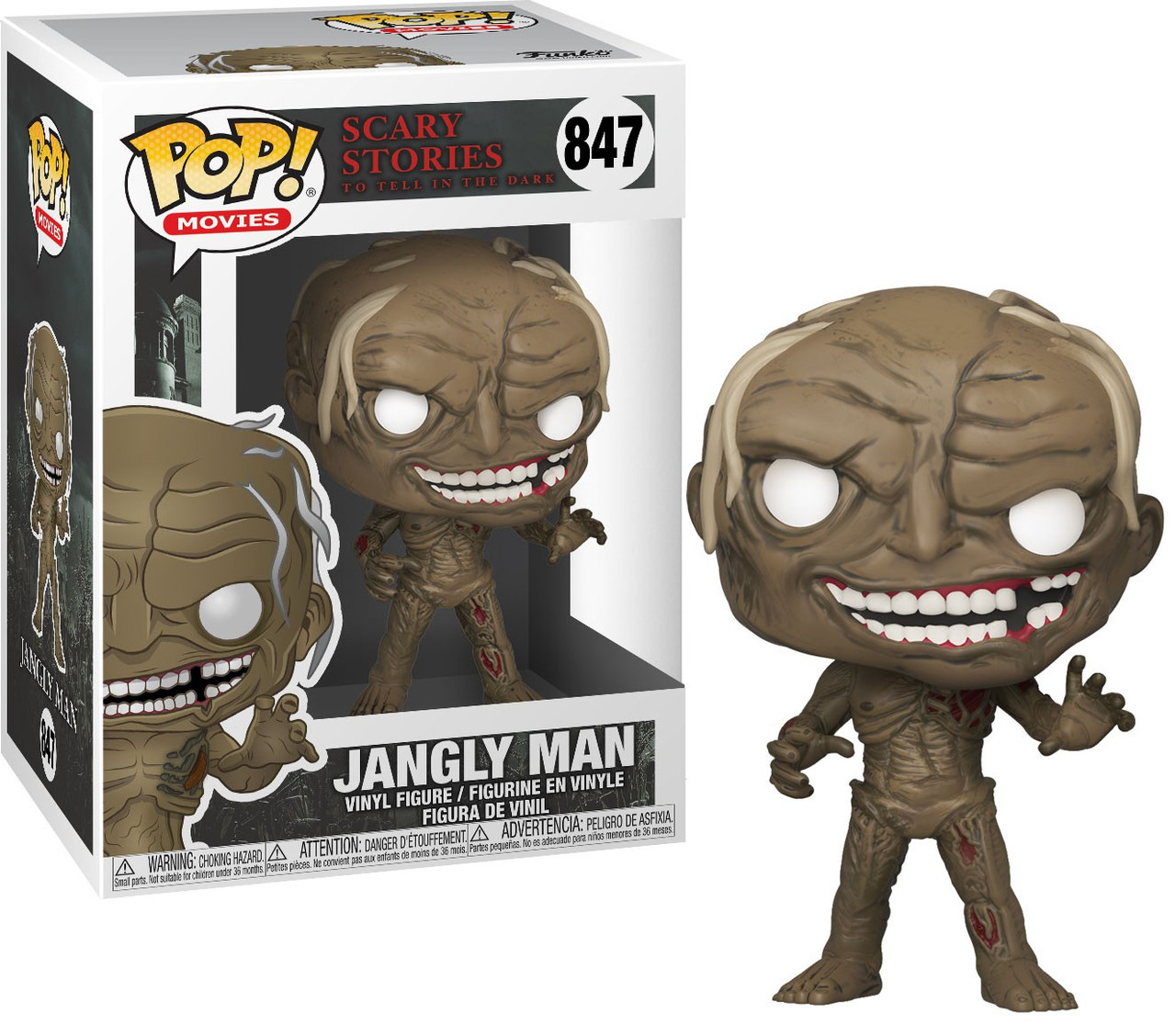 Movies: 2019, Toy NUEVO Jangly Man Funko Pop Scary Stories