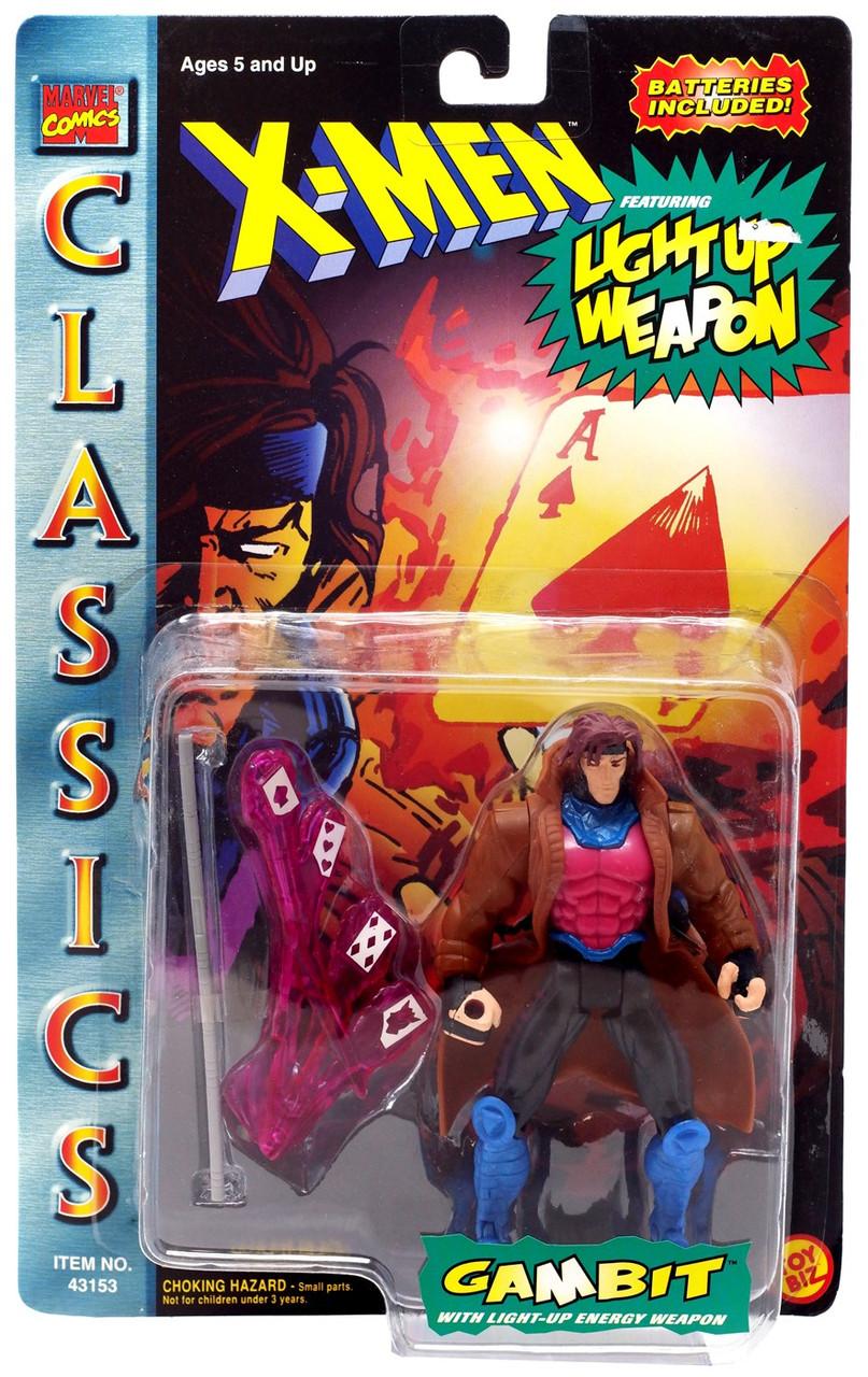 Gambit Uncanny X-Men Custom Packaged Mini-Figure  Marvel Comic Book Hero Cards