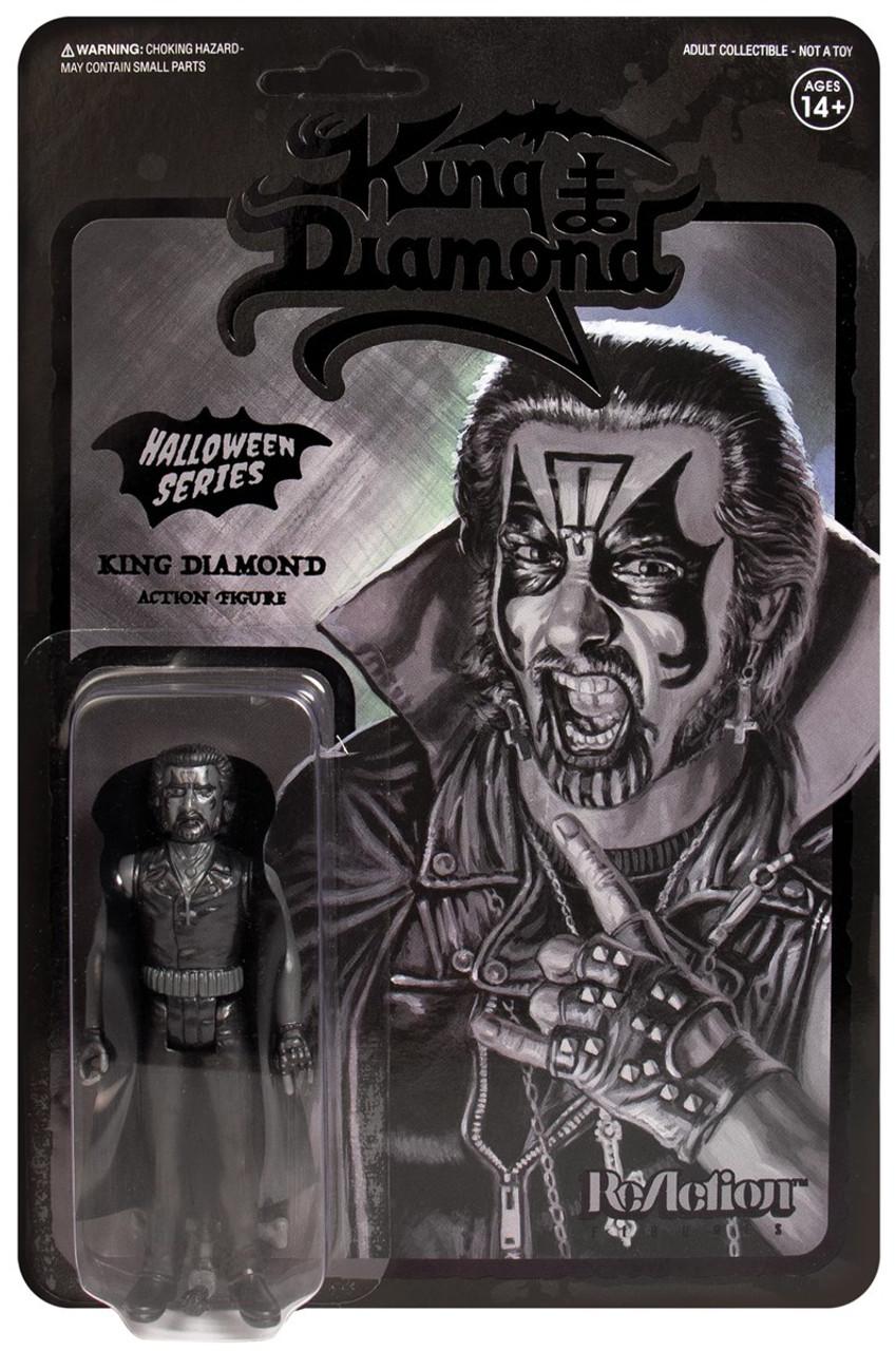 Réaction Halloween série KING DIAMOND Action Figure Glow-in-the-dark