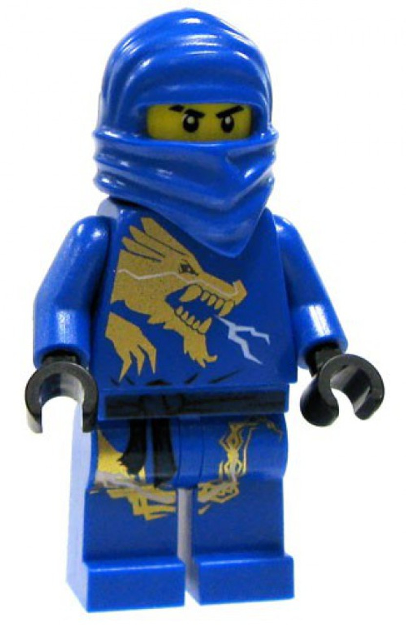Lego Ninjago The Golden Weapons Jay Dx Minifigure Dragon Extreme Suit Loose Toywiz