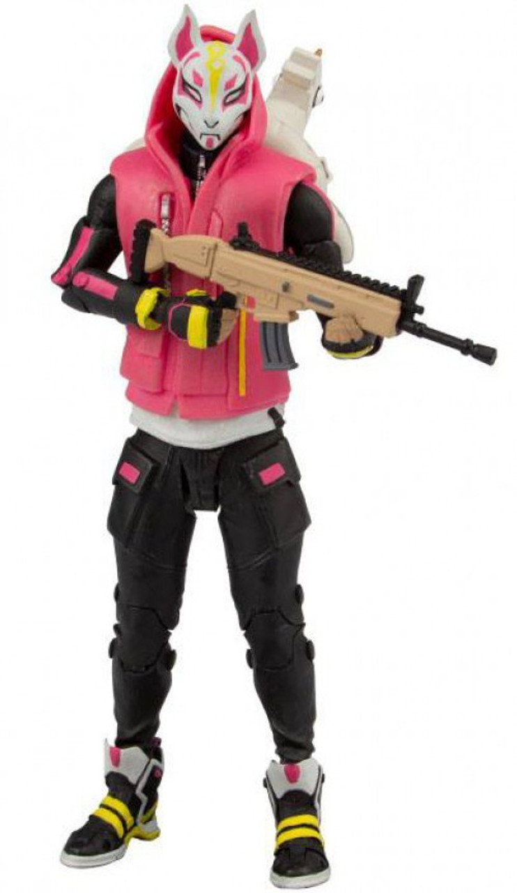 Mcfarlane Toys Fortnite Premium Drift 7 Action Figure Damaged Package Toywiz