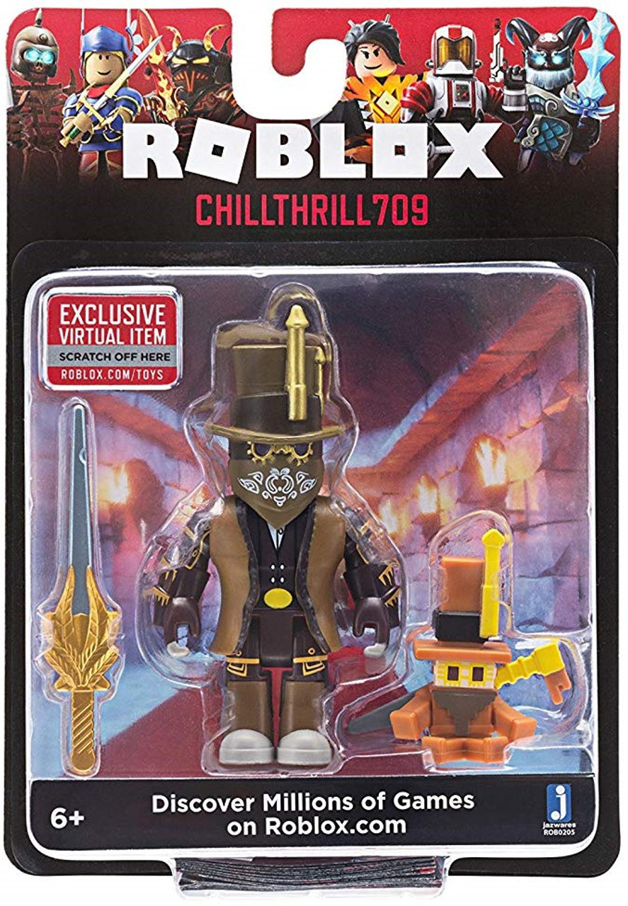 Jazwares Roblox Chillthrill709 Action Figure