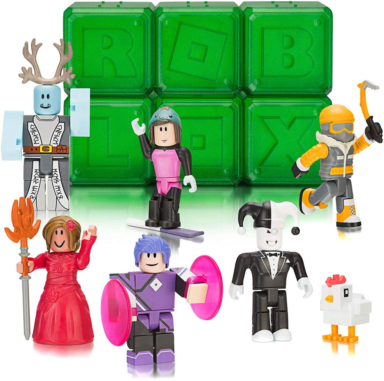 Roblox Celebrity Collection Series 4 Lot Of 6 Mystery Packs