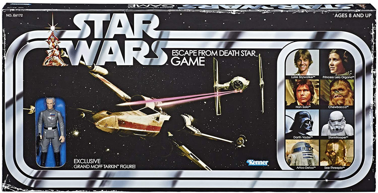 Star Wars Vintage Escape from The Death Star Game BRAND NEW