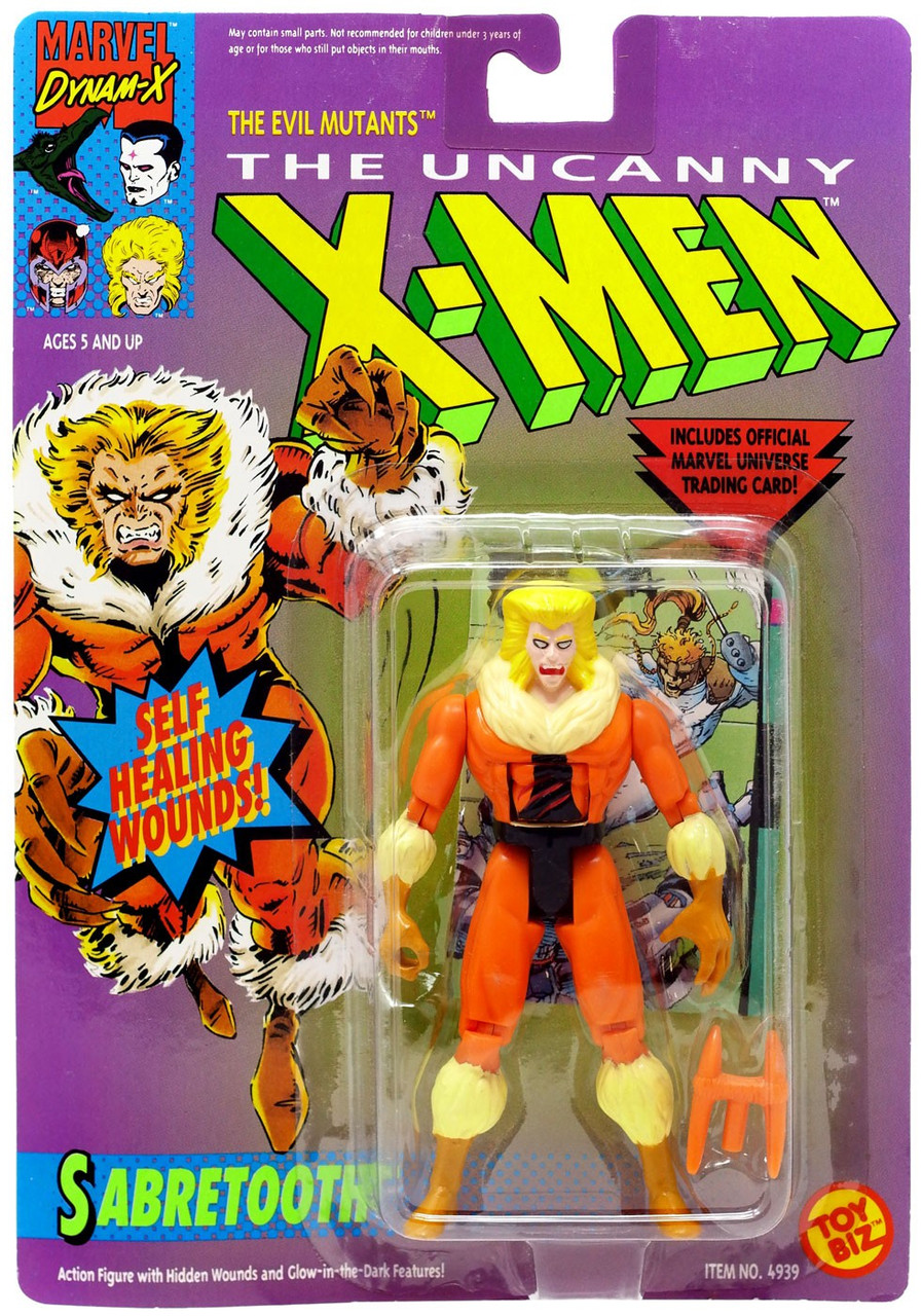SABRETOOTH X-MEN MARVEL COMICS MINIFIGURE FIGURE USA SELLER NEW IN PACKAGE