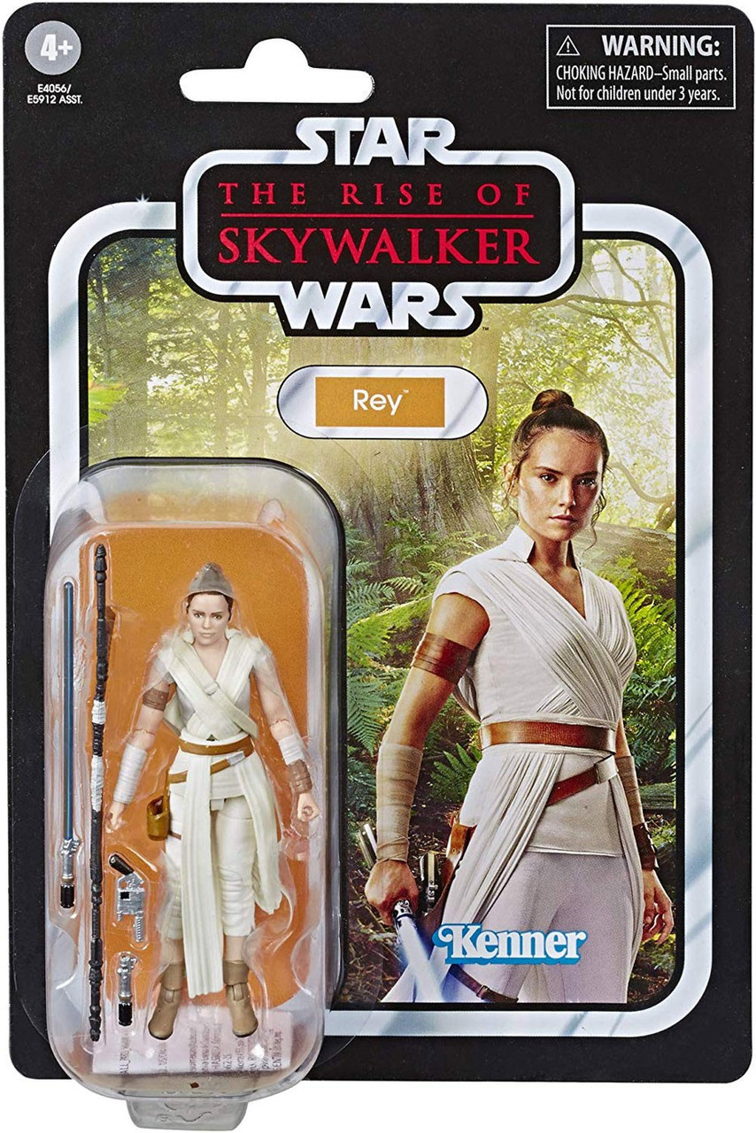 "3.75/"" Rey-Jedi Training Action Figure Star Wars The Vintage Collection Excl"