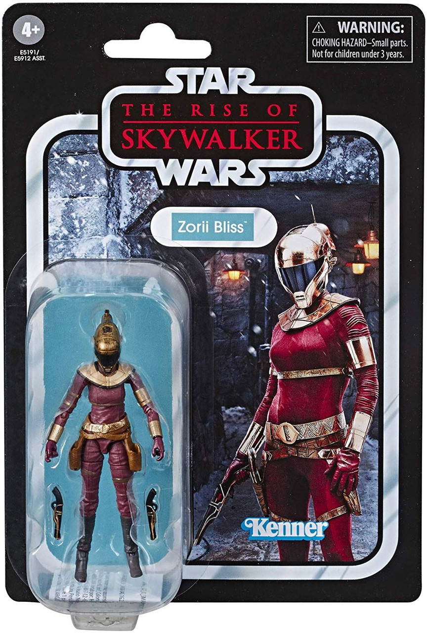Star Wars The Rise Of Skywalker Vintage Collection Wave 23 Zorii Bliss 3 75 Action Figure Hasbro Toys Toywiz