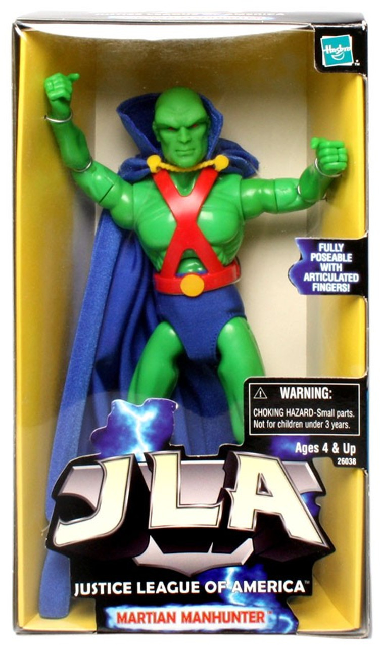 Martian Manhunter minifigure action movie DC Comic toy figure