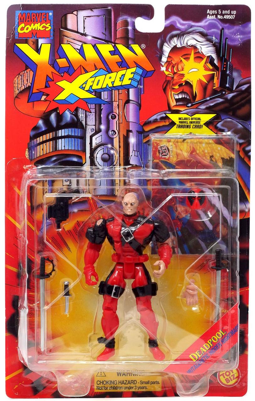 4/'/' Marvel Universe Super Hero Action Figure X-Men Grey Deadpool Loose Toy