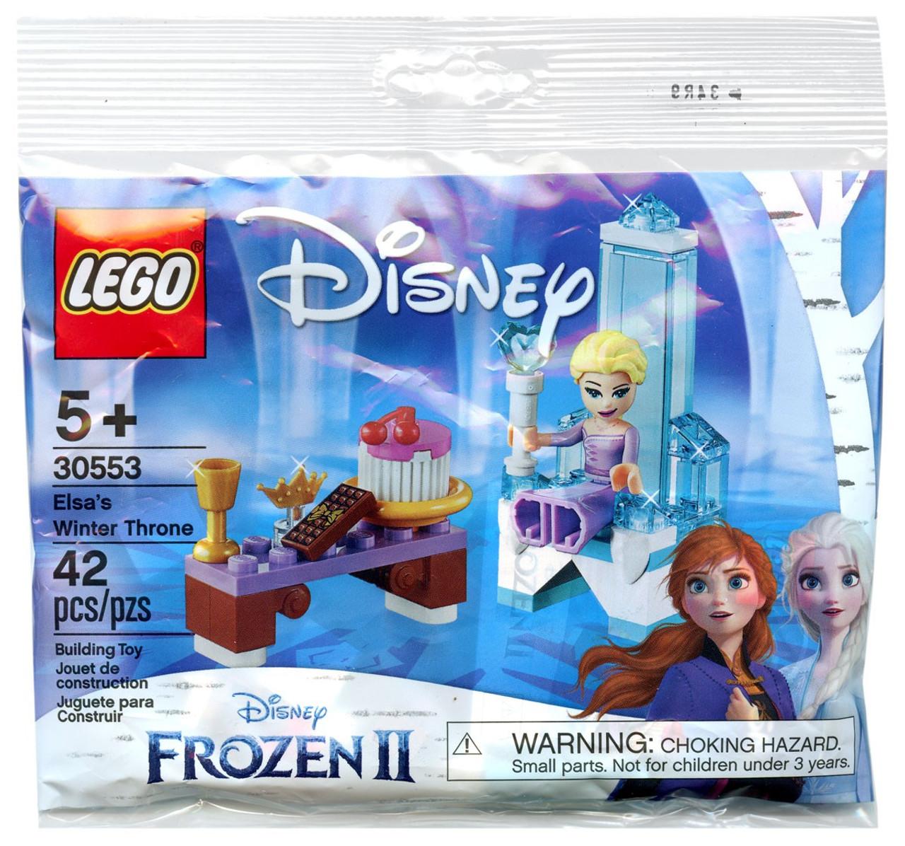 Lego Disney Princess Disney Frozen 2 Elsas Winter Throne Set 30553