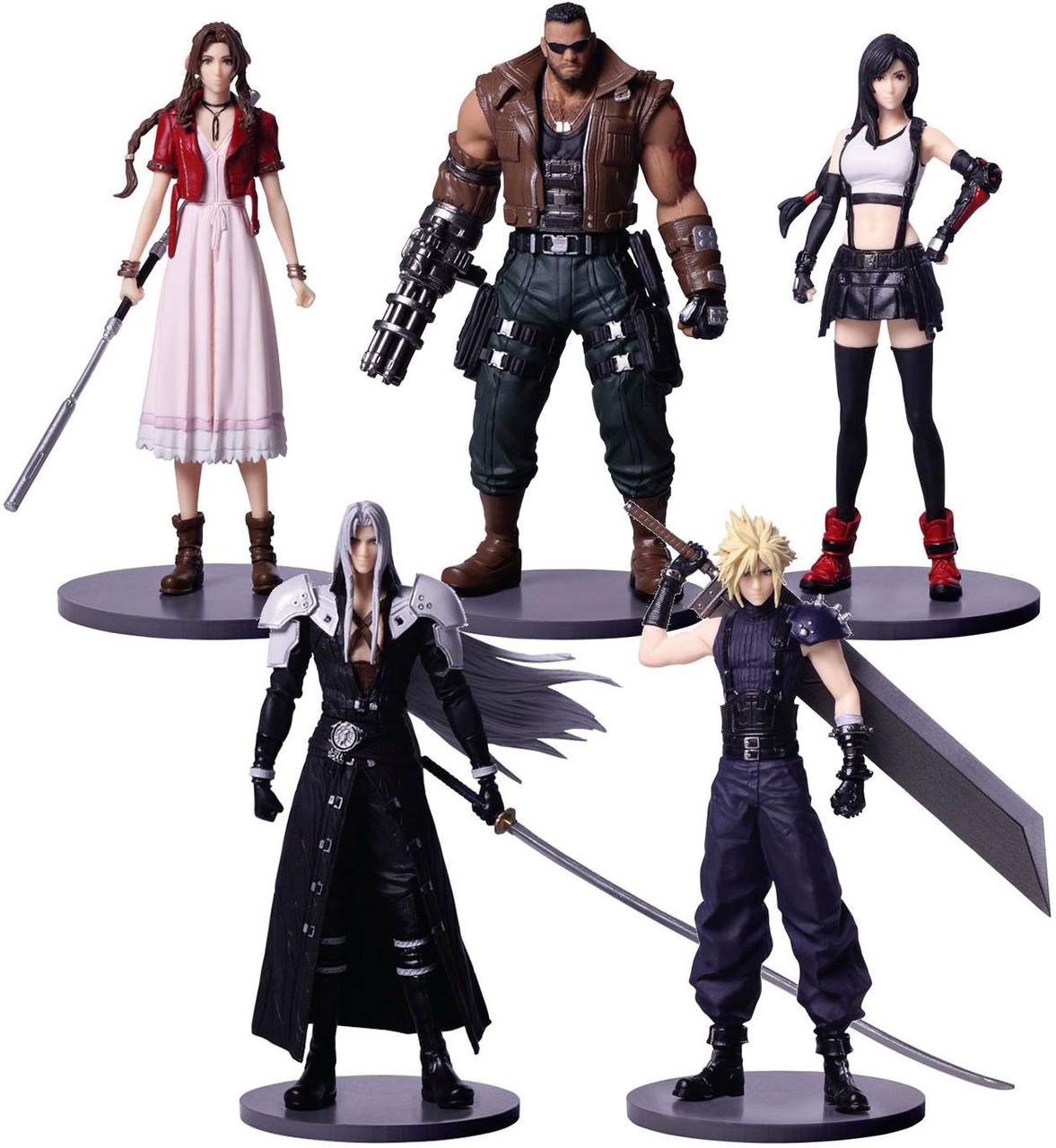 Square Enix Final Fantasy Trading Arts Mini all five set Complete Set Japan NEW