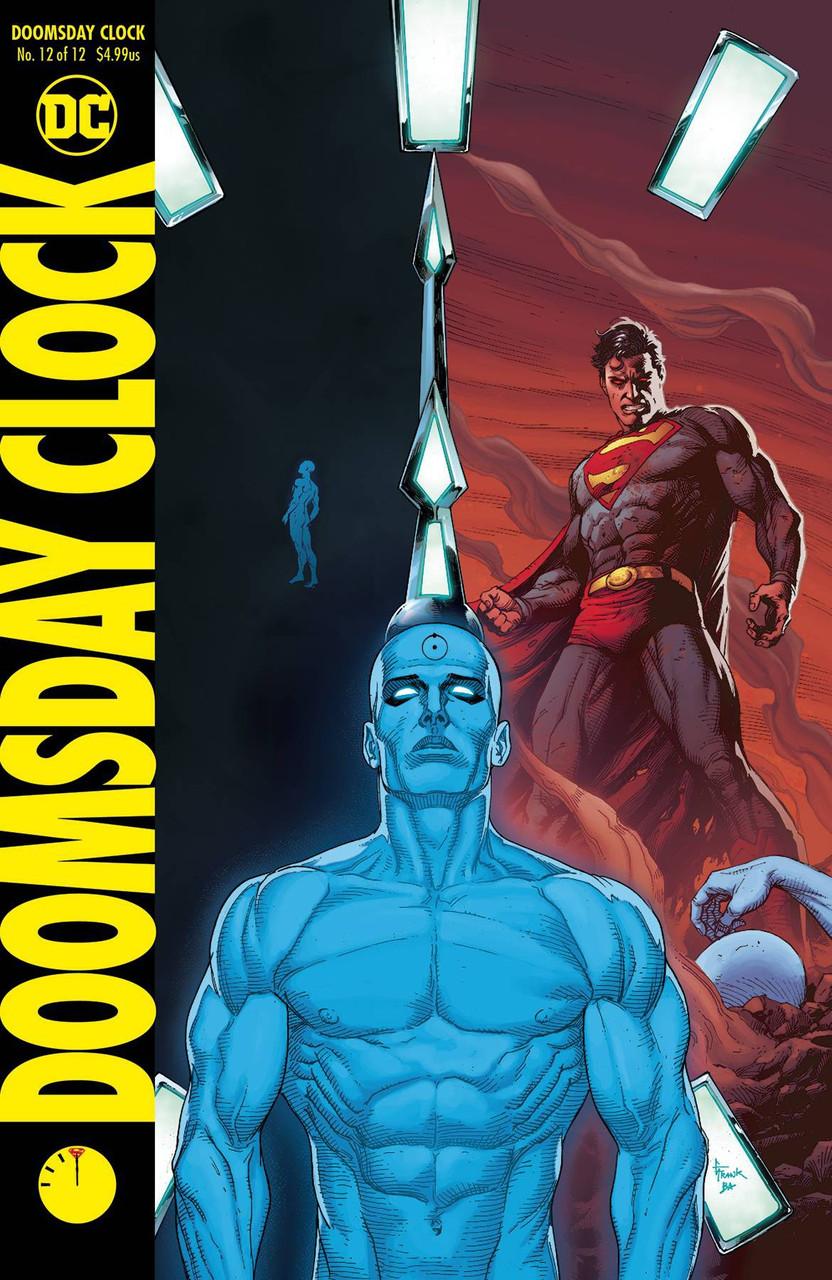 Dc Doomsday Clock Comic Book 12 Gary Frank Variant Cover Dc Comics