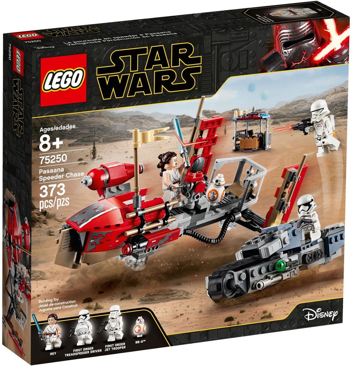 Lego Star Wars The Rise Of Skywalker Pasaana Speeder Chase Set 75250 Toywiz