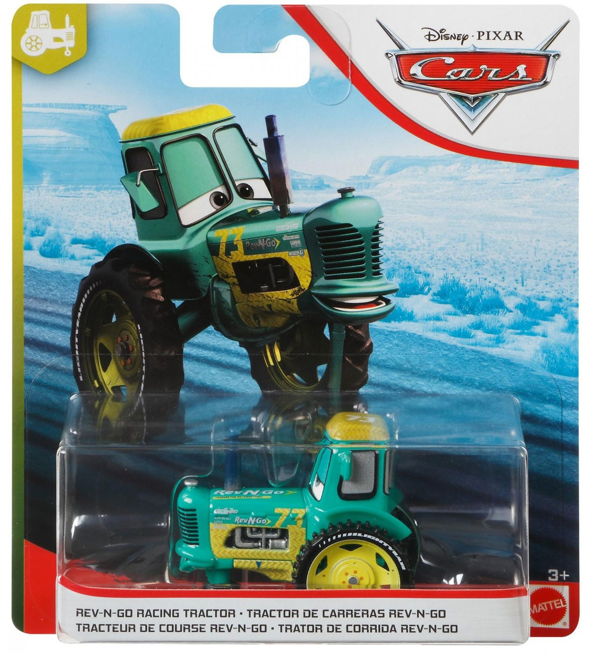 Disney Pixar Cars Cars 3 Tractor Training Rev N Go Racing Tractor