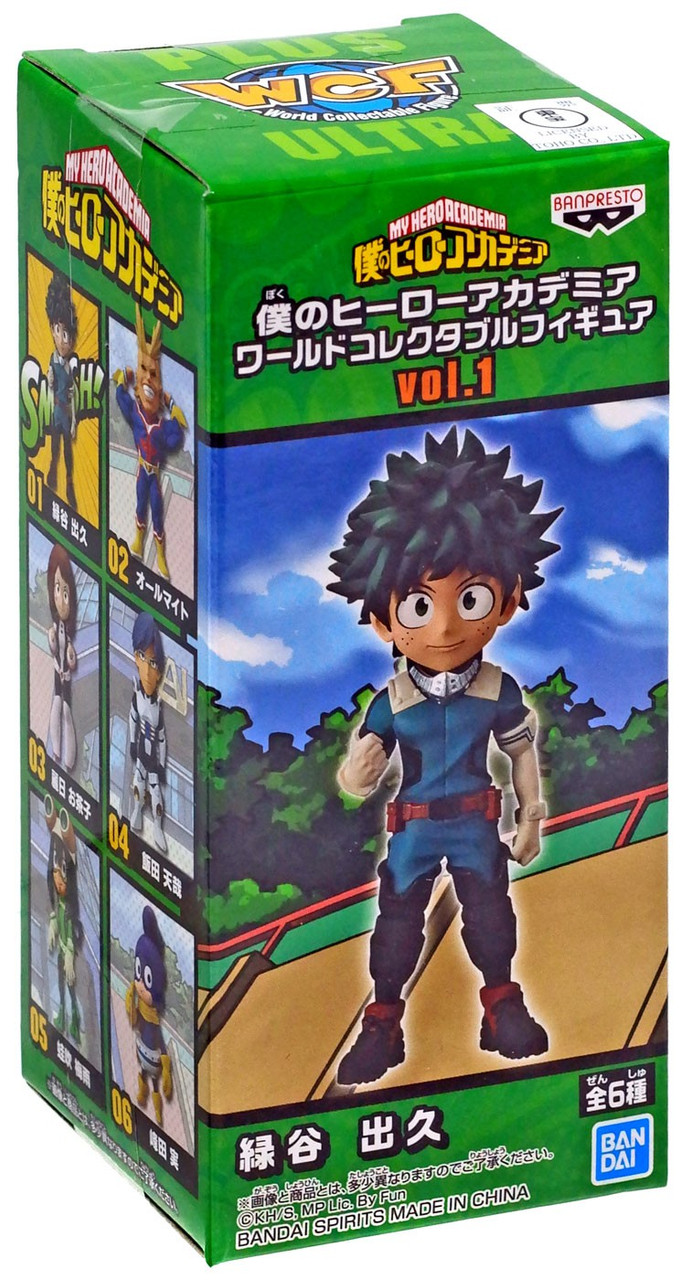 My Hero Academia The Movie Heroes Rising World Collectable Figure 6 Set WCF