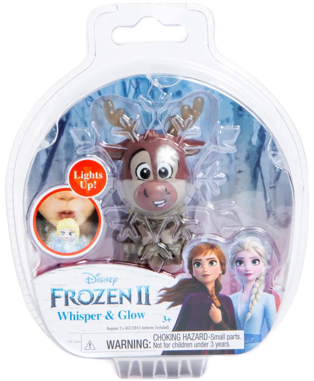 Anna Elsa /& Olaf Frozen 2 Whisper /& Glow Triple Pack