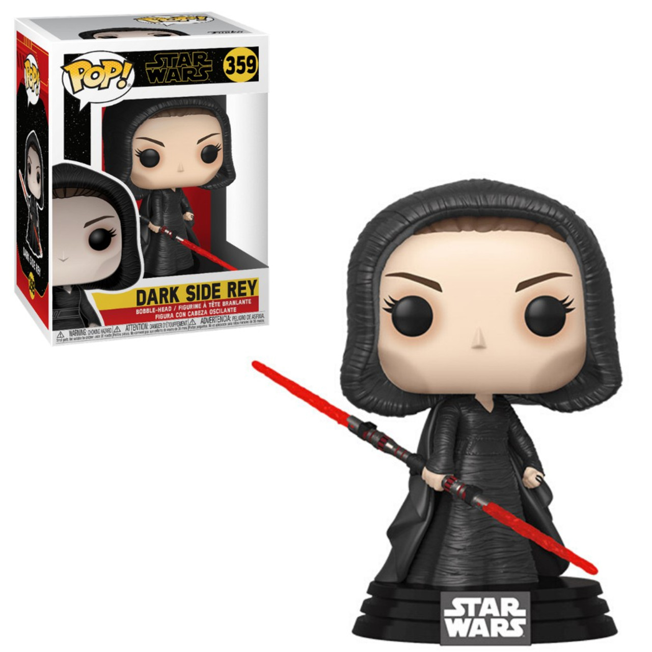 Funko Star Wars The Rise Of Skywalker Pop Star Wars Dark Side Rey Vinyl Figure 359 Toywiz