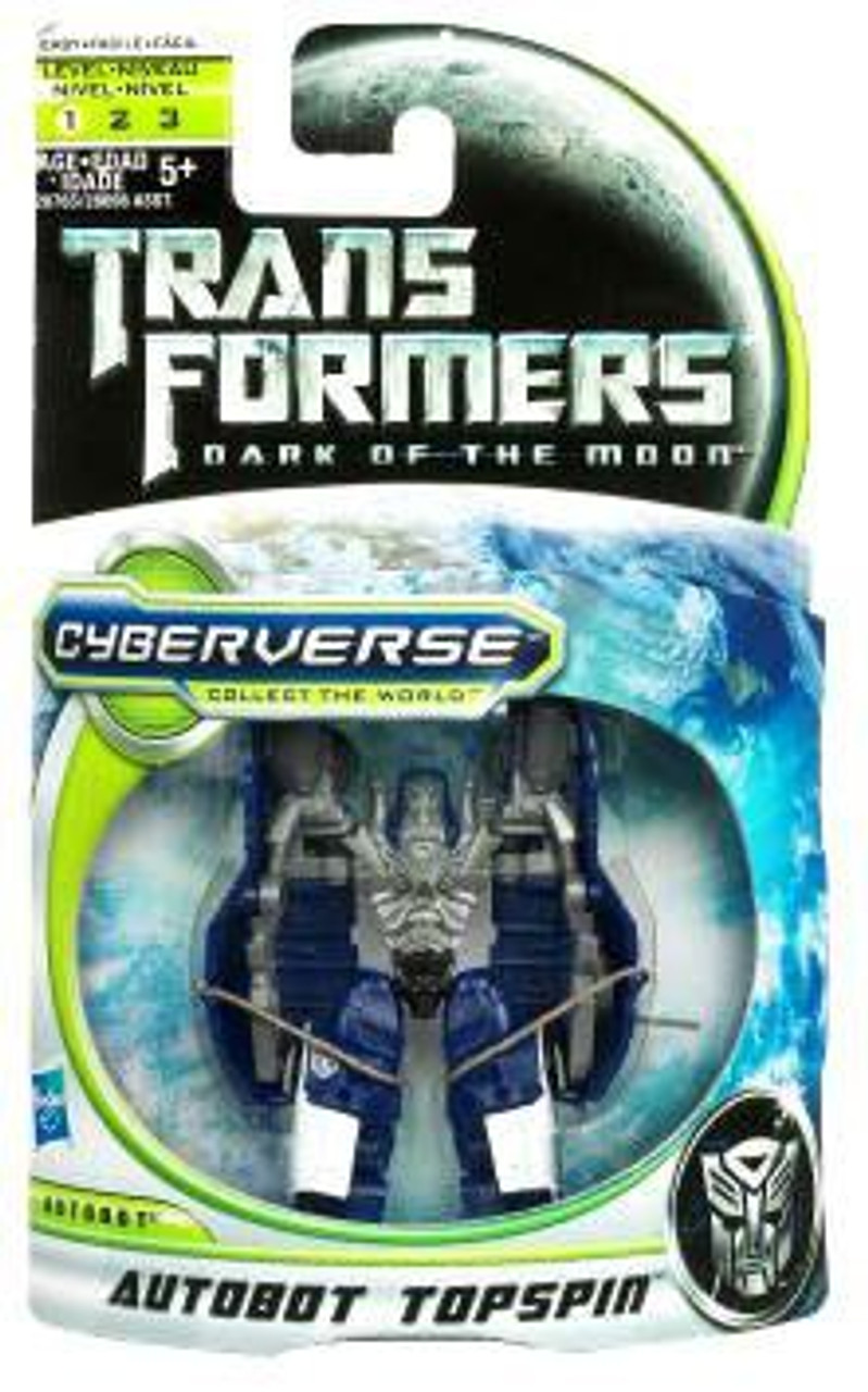 Transformers 3 Dark of the Moon Movie Cyberverse Legion Class Action Figure Autobot Topspin Hasbro 653569588405
