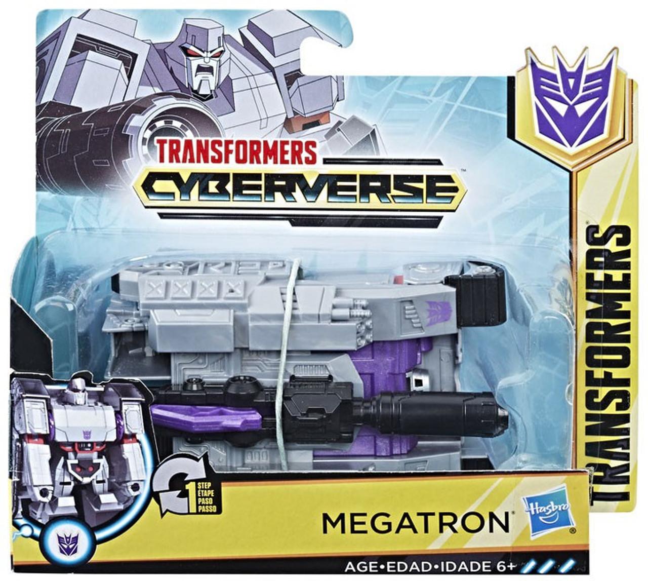 Hasbro Transformers Cyberverse Energon Axe Attack 1 Step Megatron in stock