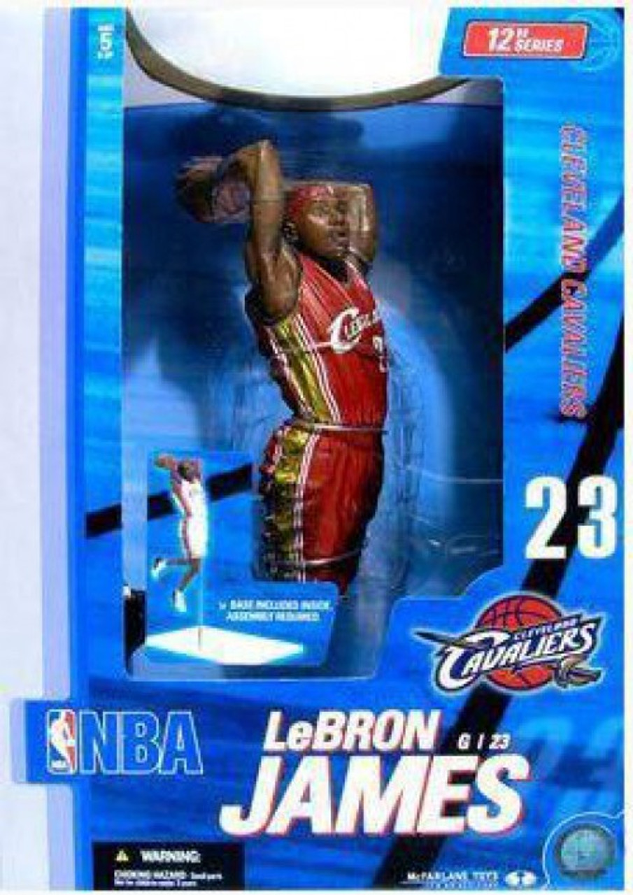 NBA Heroes Action Figure Cleveland Cavaliers LeBron James