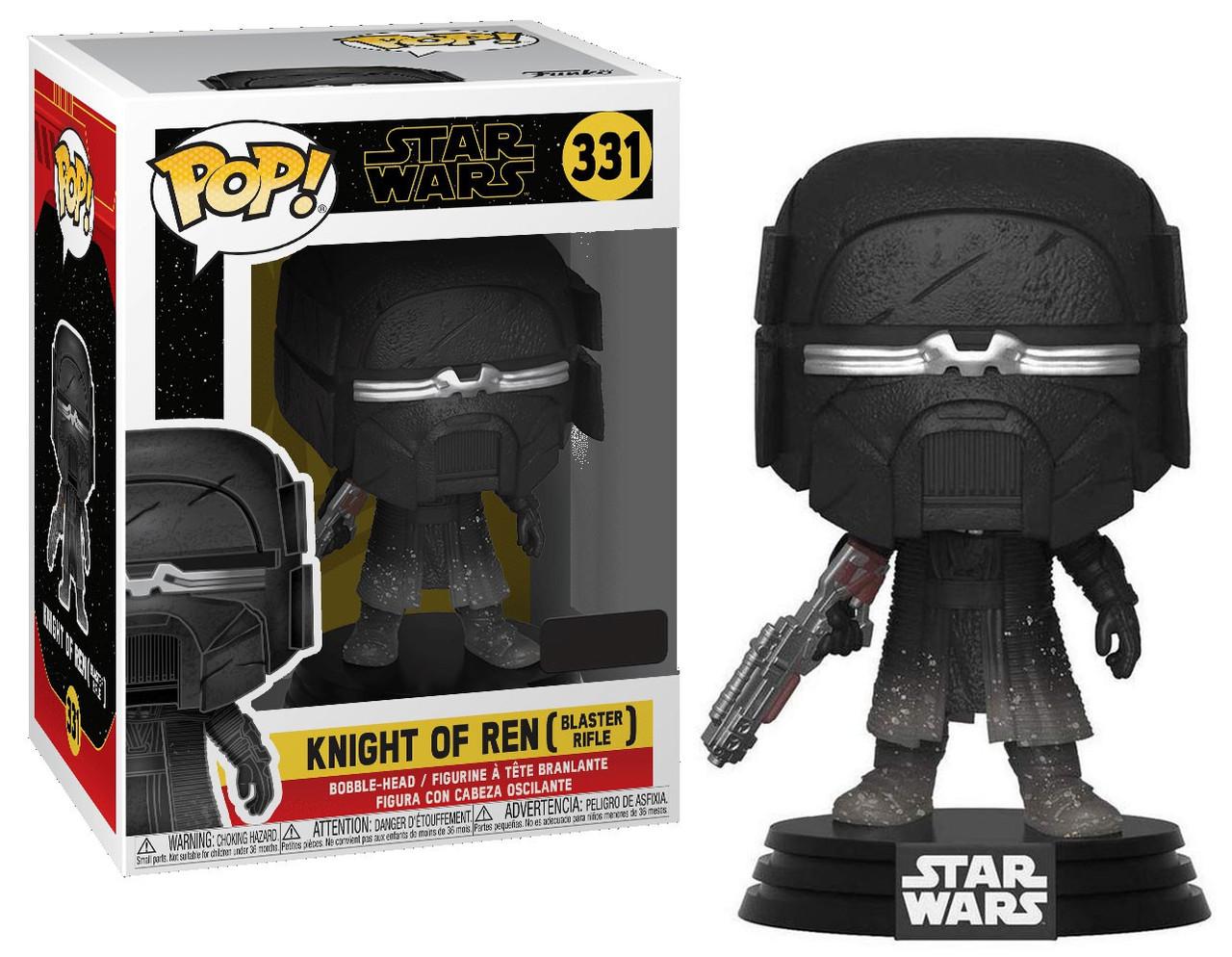 Funko Star Wars The Rise Of Skywalker Pop Star Wars Knight Of Ren Exclusive Vinyl Figure 331 Blaster Rifle Toywiz