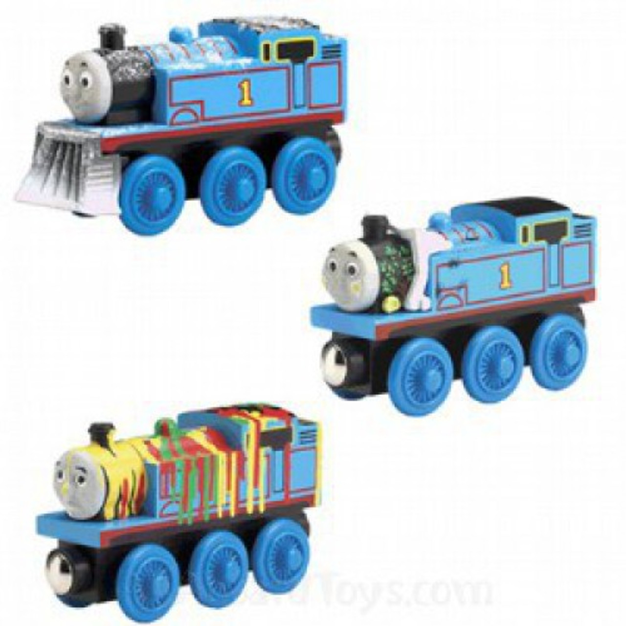 Wooden Railway Thomas Friends Roblox Thomas Friends Wooden Railway Adventures Of Thomas Train Set Damaged Package Learning Curve Toywiz
