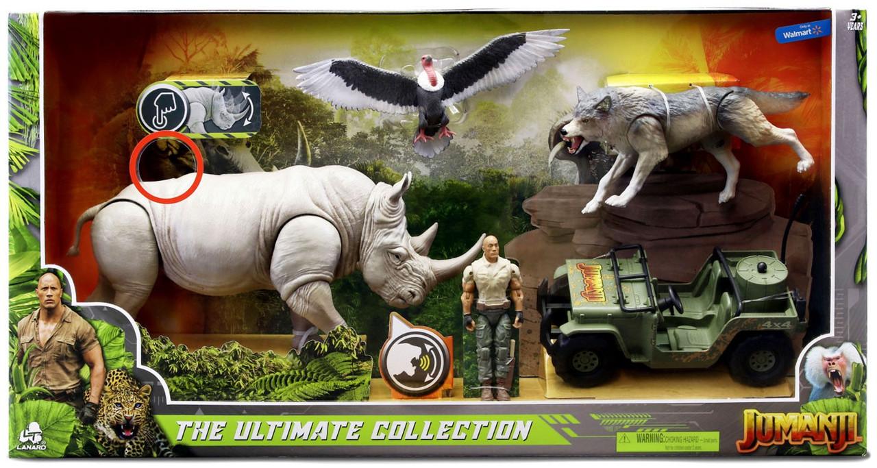 Jumanji Massive Hippo Figure Set with Sound