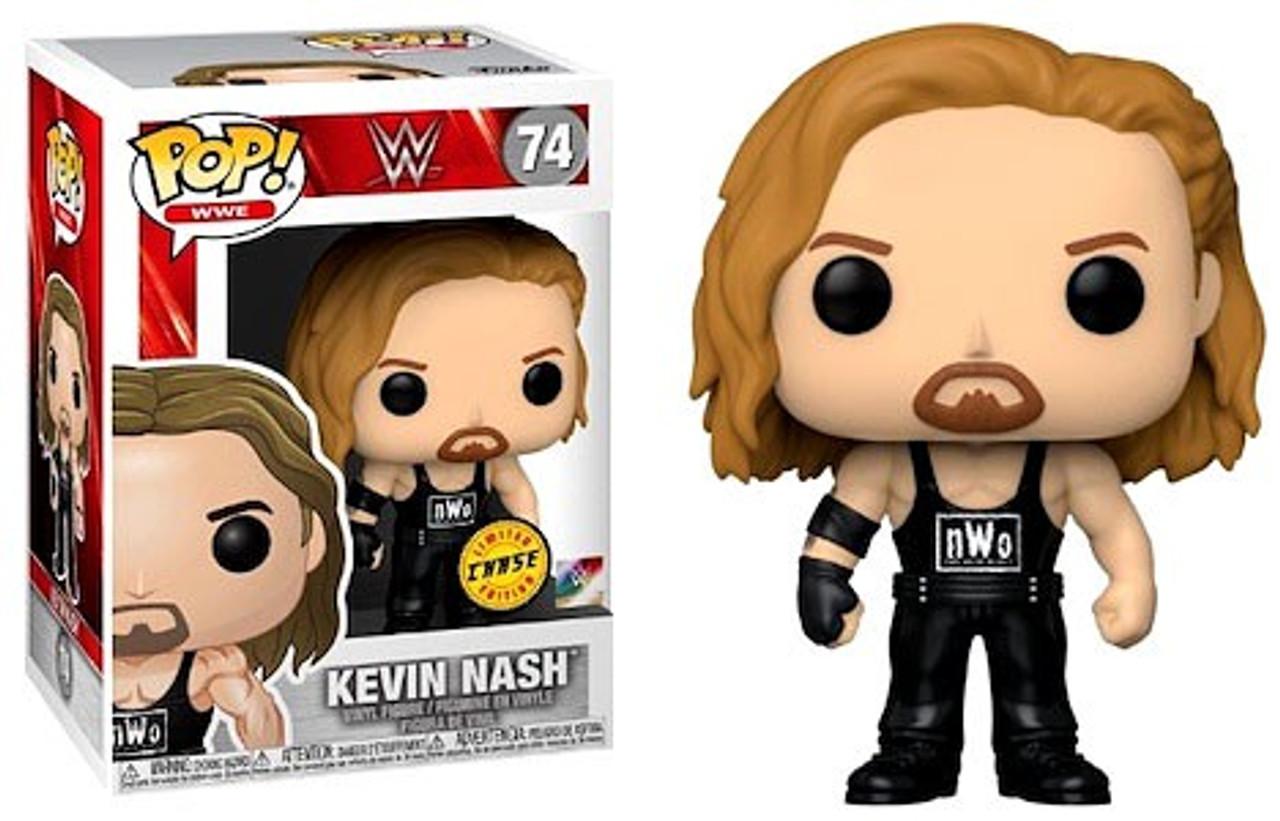 Autographed Diesel Kevin Nash WWE Funko POP Figure #74 WWF WWE WCW nWo